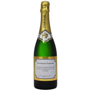 Clic Personalised Champagne Bottle Larger Image