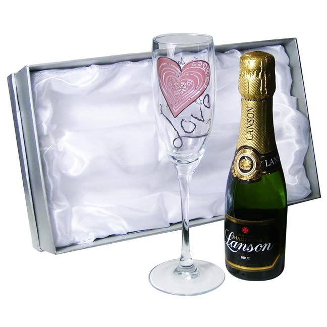 True Love Mini Champagne Gift Box